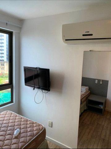 Beach Class Residence: 2 quartos, mobiliado, com lazer na Av. Boa Viagem - Foto 10