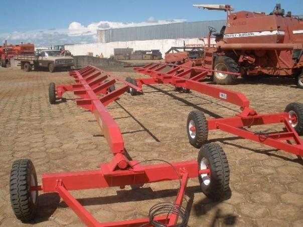 Carreta agrícola transporte de plataforma - Foto 6