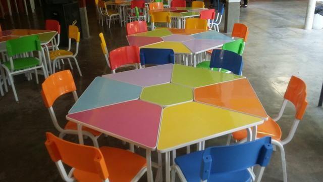 Cadeiras escolar polipropileno , conjuntos pré escolar * zap - Foto 2