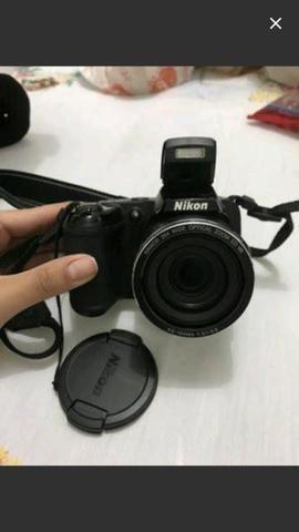 Câmera Nikon coolpix 810