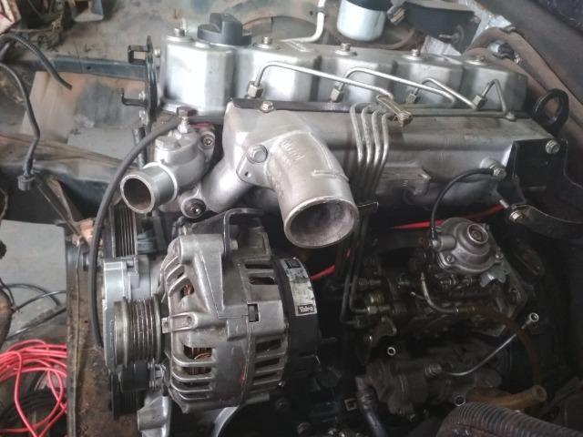 Motor Mwm 04 Cil sprint 2.8 Turbo Interc. Bomba Mecanica 265 MIl KM rodados originais - Foto 3