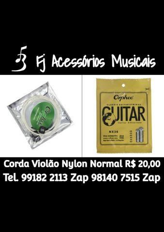 Cordas para Violão Orphee Nylon NX36 (tensão Normal)
