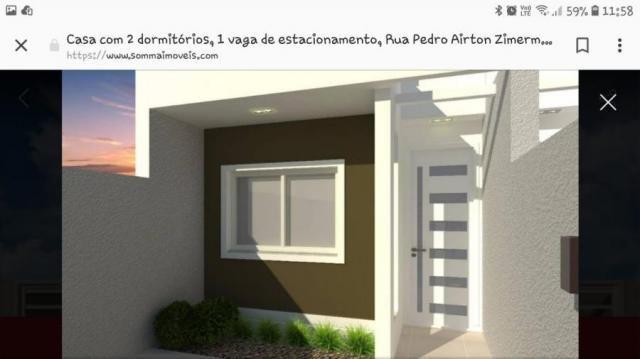 Casa para venda em curitiba, sitio cercado, 2 dormitórios, 1 banheiro, 1 vaga - Foto 2