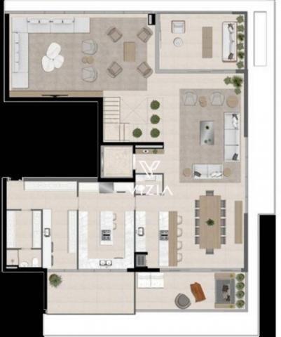 Cobertura com 4 dormitórios à venda, 417 m² por R$ 6.850.788,00 - Cabral - Curitiba/PR - Foto 19