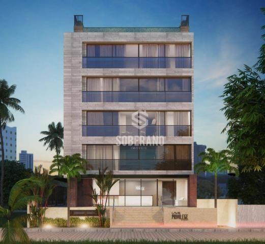 Apartamento com 1 dormitório à venda, 39 m² por R$ 240.000 - Intermares - Cabedelo/PB - Foto 3