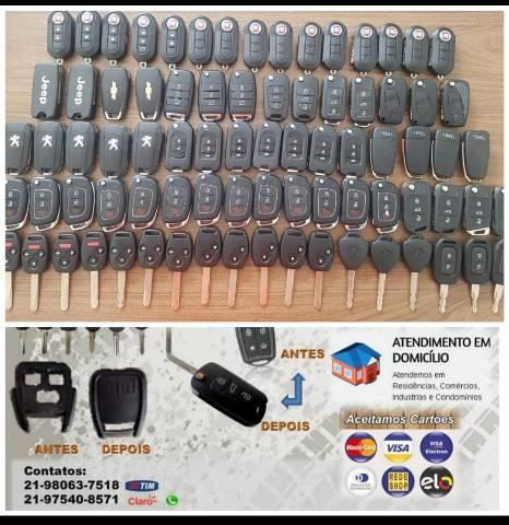 CHAVES CODIFICADAS E TELECOMANDOS AUTOMOTIVOS