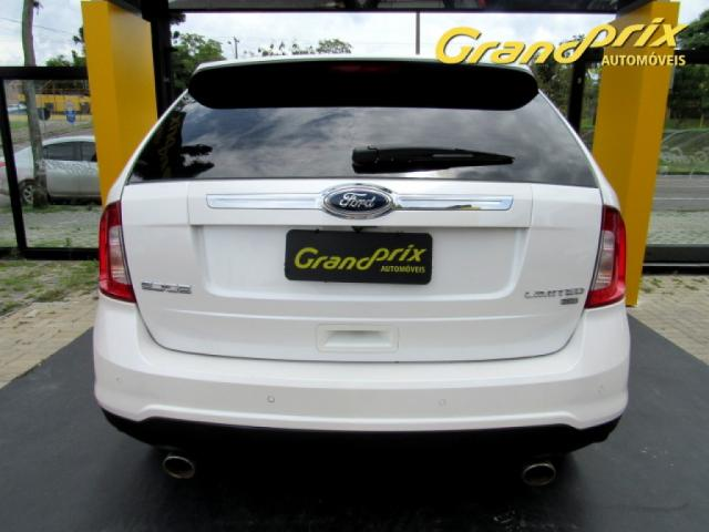 EDGE 2013 3.5 V6 GASOLINA LIMITED AWD AUTOMÁTICA BRANCA COMPLETA ÚNICO DONO! - Foto 4