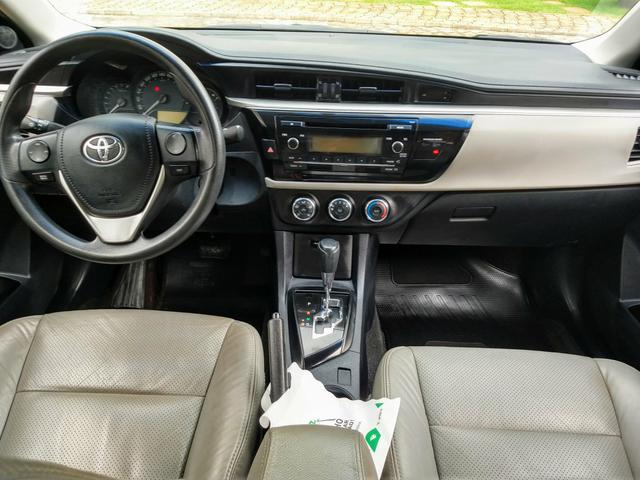 Toyota Corolla automático IPVA TOTAL PAGO - Foto 12