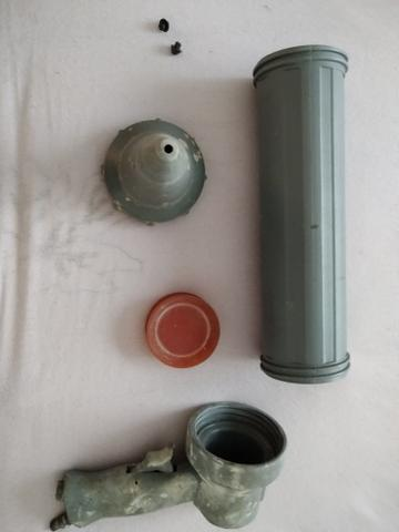 Pistola pneumática para aplicar rejunte epóxi