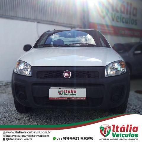 Fiat Strada 1.4 Hard Working CS 2018/19. IPVA 2020 Pago - Foto 2