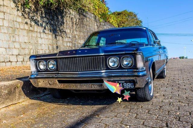 Relíquia de Colecionador Ford Landau com placa Preta 1980! - Foto 9