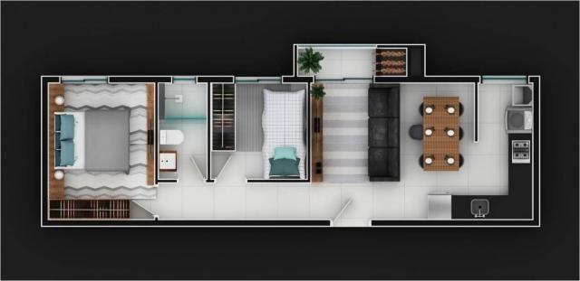 Apartamento à venda com 2 dormitórios em Atiradores, Joinville cod:V51902 - Foto 7