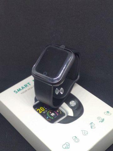 Smartwatch Relógio Inteligente Y68 novo - Foto 4