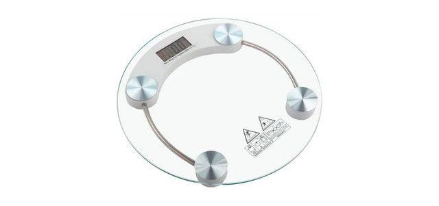 Balança Digital Corporal Vidro Temperado Banheiro Academia 180Kg 0640