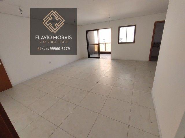 Apartamento 118 metros com vista mar no Meireles - Fortaleza - Ceará. - Foto 4