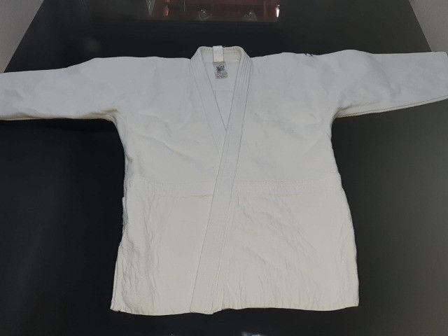 Kimono Judô 730 Trançado Out Shock - Foto 2