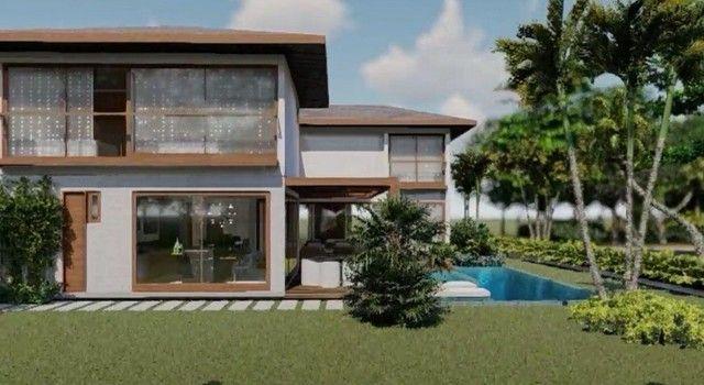 Lindíssima casa com 6 suítes em condomínio Fechado Praia do Forte BA