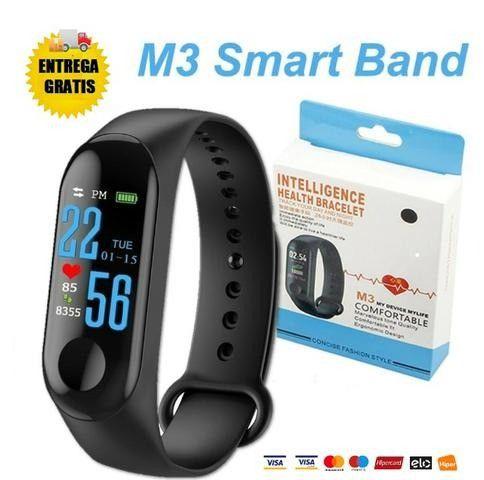 Relógio Inteligente Smartband M3 Monitor Cardíaco Pressão - Foto 2