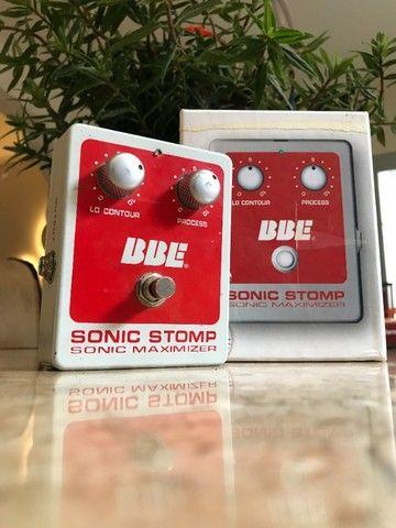 Pedal BBE sonic stomp maximizer (equalizador, compressor) - Foto 5