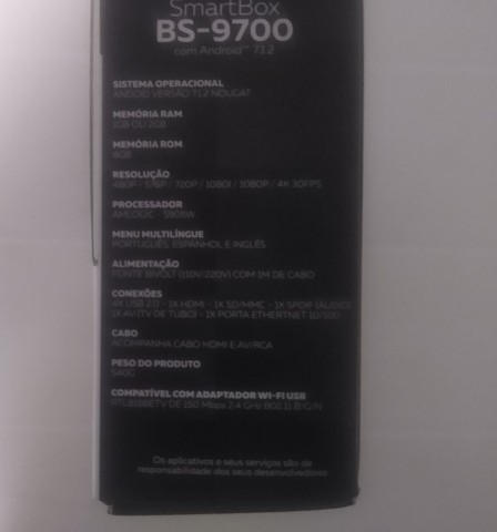 SmartBox BS-9700 Bedin Sat  - Foto 5