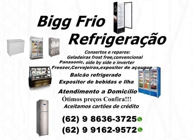 Geladeiras:convencional,frost free,Freezer,Balcão,Cervejeiras etc(Marque seu horário)