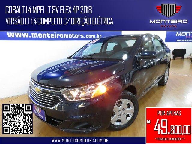 Chevrolet Cobalt 1.4 Mpfi LT 8v Flex 4p Completo Ótimo Estado