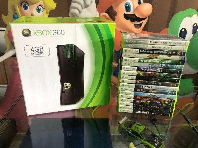 Xbox 360 com kinect. Venha conhecer a maior loja de ganes do ABC!  - Foto 2