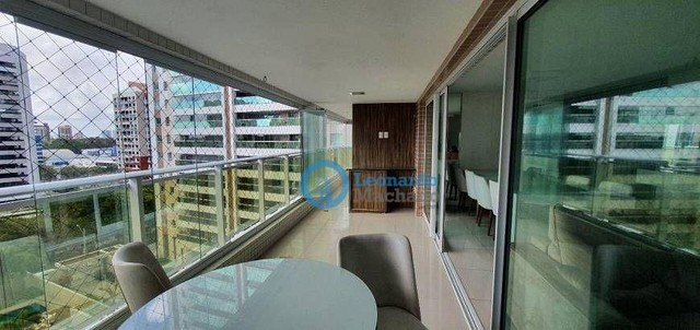 Apartamento à venda, 148 m² por R$ 1.270.000,00 - Guararapes - Fortaleza/CE - Foto 3