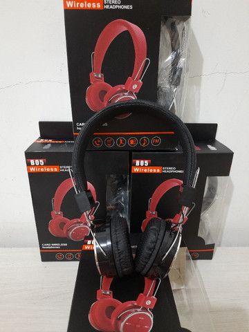 Fone de ouvido Bluetooth Novo na caixa - Foto 5