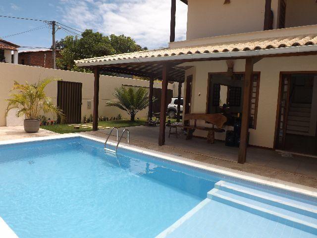 Linda casa 3 4 toda mobilhada com piscina em mar grande for Casa con piscina para alquilar por dia