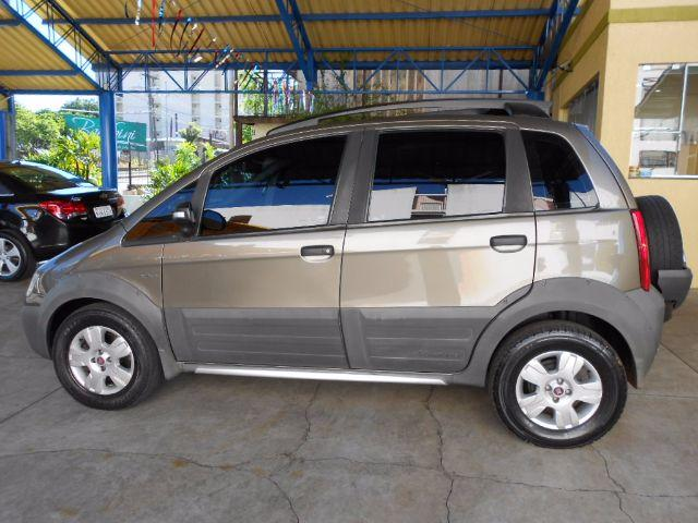 FIAT IDEA ADVENTURE DUALOGIC 1.8 CINZA