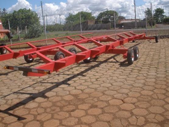 Carreta agrícola transporte de plataforma - Foto 5