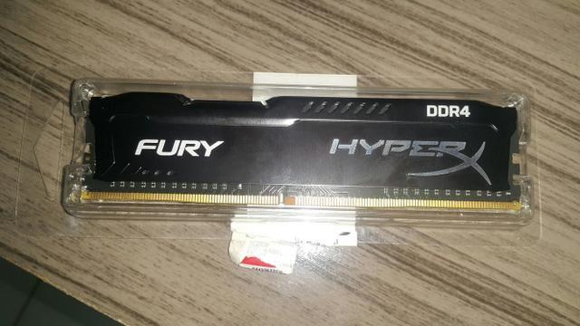 Memória DDR4 4 gigas da HyperX