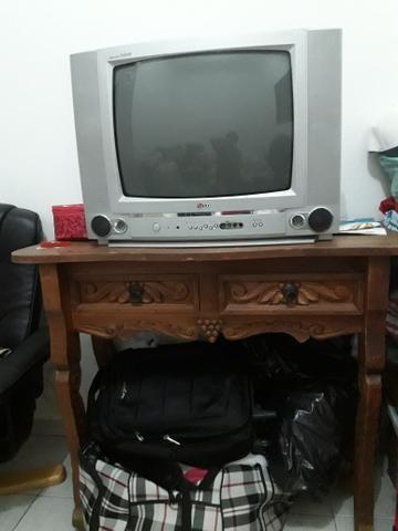 Tv+móvel rústico