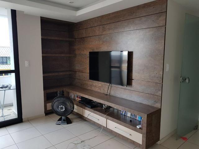 Maria da Fé, apartamento na Constantino Nery, 3 quartos, andar alto, modulados e splits