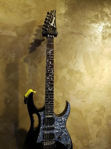 Guitarra Ibanez Steve Vai Jem 555 Preta Original Impecável