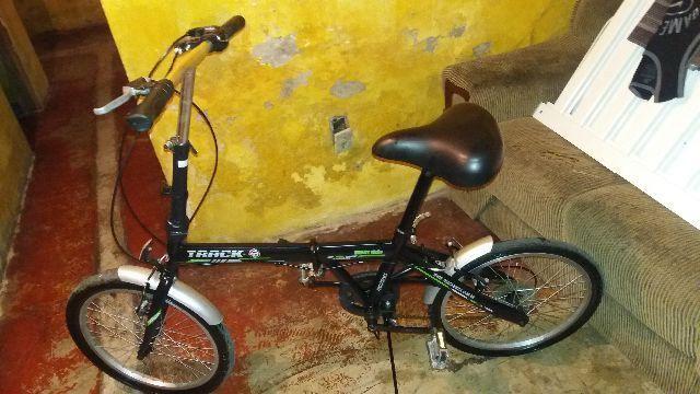 Bicicleta desmontável com marcha muito Nova