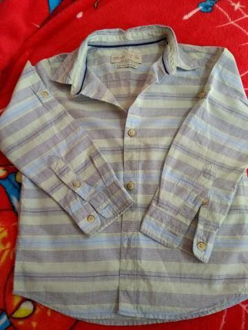 Camisa Zara manga longa