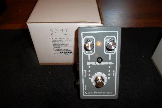 Pedal Fuchs Plush Good Verbrations - Fender '65 Twin Reverb