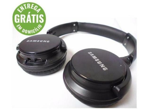 Fone ouvido bluetooth samsung 4 em 1 cartão micro sd celular - entrega grátis