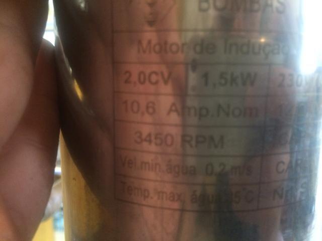Bomba Leão 2cv 220v mono