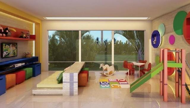 Vg Fun, apartamento com vista mar na Praia do Futuro, 3 quartos, 2 vagas, lazer completo - Foto 10