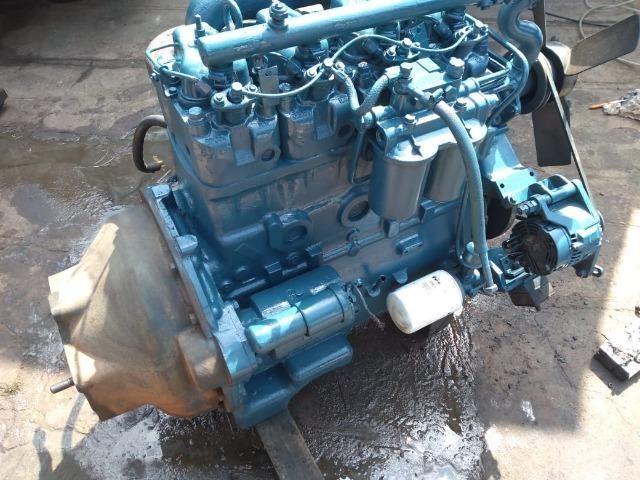 Bloco Limpo do Motor 04 Cil Mwm 229 Turbinado por fora F350 F100 F1000 F4000 - Foto 2