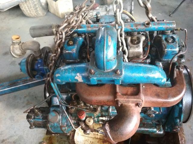 Motor Mwm 229 04 Cil Aspirado/Maçarico - F100 F1000 F4000 F350 - Foto 4