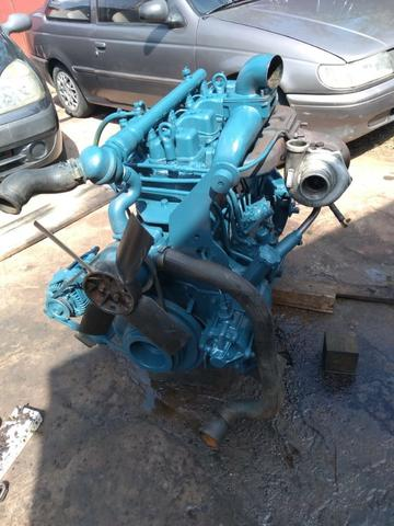 Motor Mwm 04 Cil 229 Aspirado - F100 F1000 F4000 Trator - Foto 5