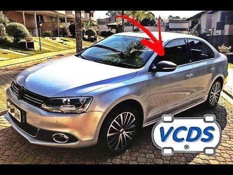 VCDS em Jetta a partir de 2011 VW ativo funções originais como dobrar  retrovisor na chave