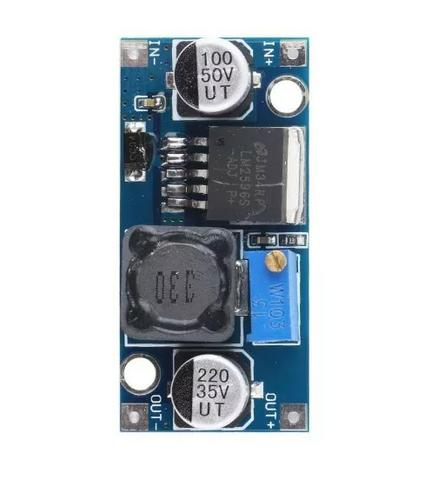 Regulador De Tensão Lm2596s Dc-dc Step-down - Foto 3