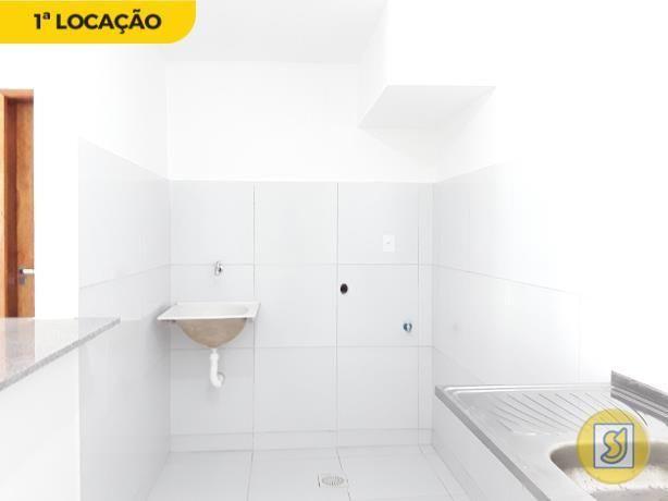 Apartamento para alugar com 1 dormitórios em Cidade dos funcionários, Fortaleza cod:50386 - Foto 3
