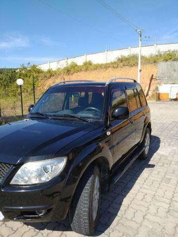 Pajero TR4 2012 automático, completo, GNV, 2° dono! - Foto 3