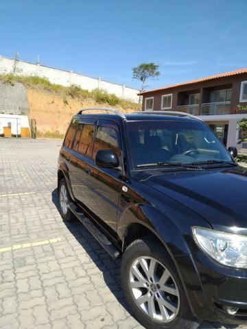 Pajero TR4 2012 automático, completo, GNV, 2° dono! - Foto 5